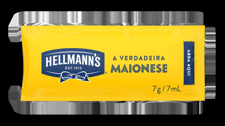 Maionese Hellmann's - Sachê 7g