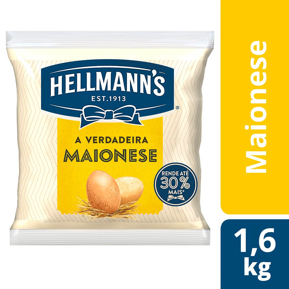 Maionese Hellmann's Saco 1,6 kg