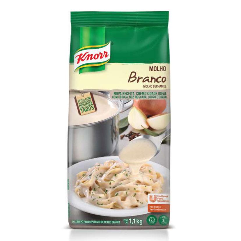 Molho Branco Bechamel Knorr 1,1 kg - Molho Branco Bechamel Knorr