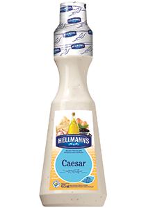 Molho para Salada Hellmann's Caesar 475 mL - Molhos para salada Hellmann's valorizam a salada e o seu restaurante
