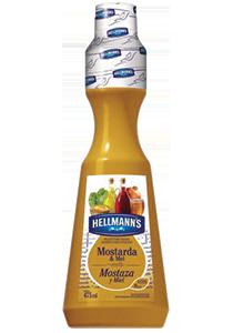 Molho para Salada Hellmann's Mostarda e Mel 475 mL - Hellmann's dá um sabor especial aos seus pratos e melhora a imagem do seu restaurante.