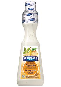 Molho para Salada Hellmann's Parmesão 475 mL - Hellmann's dá um sabor especial aos seus pratos e melhora a imagem do seu restaurante.