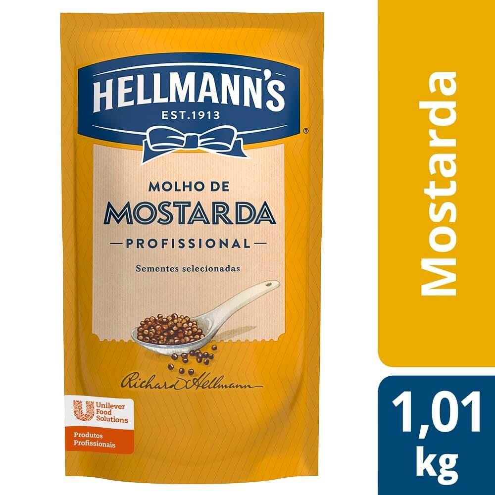 Mostarda Hellmann's Doypack 1,01 kg -