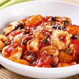 Capeletti de Carne à Puttanesca