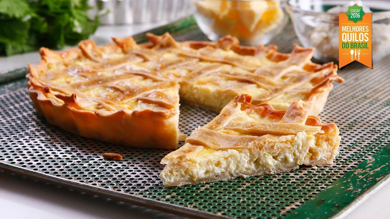 Torta de Alho-Poró