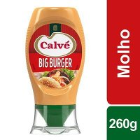 Calvé molho Big Burger Top Down 260 Gr