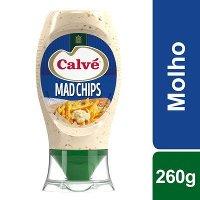 Calvé molho Mad Chips Top Down 260 Gr