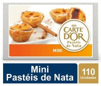 Carte D'Or Mini Pastéis de Nata congelados 30g