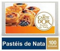 Carte D'Or Pastéis de Nata congelados 65Gr