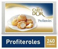 Carte D'Or sobremesa congelada Profiteroles 1x(6x500Gr)