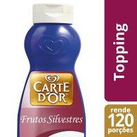 Carte D'Or Topping líquido Frutos Silvestres 1Kg