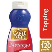 Carte D'Or topping líquido Morango 1Kg