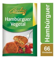 Caterline Hambúrguer vegetal congelado 2,5Kg