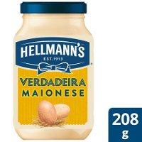 Hellmann's Maionese Vidro 208 Gr