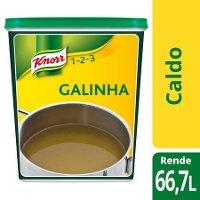 Knorr 1-2-3 caldo desidratado Galinha 1Kg