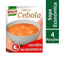 Knorr Sopa de Cebola Receita Económica