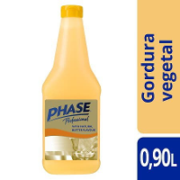 Phase gordura vegetal fritura rasa Sabor a Manteiga 900Ml