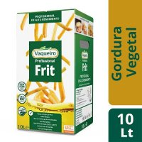 Vaqueiro Frit óleo vegetal alto rendimento fritura imersão BiB 10Lt