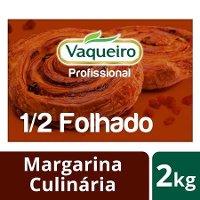 Vaqueiro Profissional margarina culinária 1/2 Folhado 2 Kg