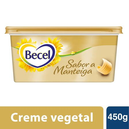 Becel creme vegetal para barrar Sabor a Manteiga 450gr