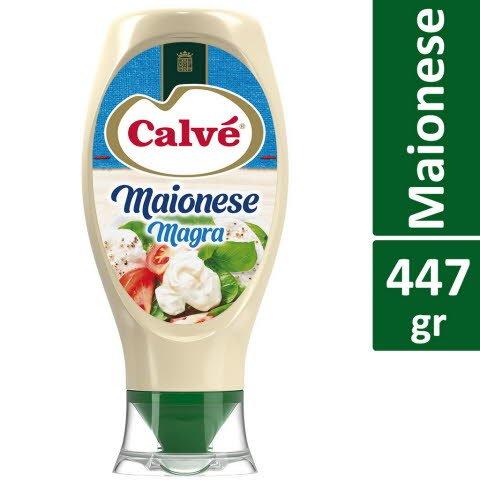 Calvé Maionese Magra Top Down 447 Gr -