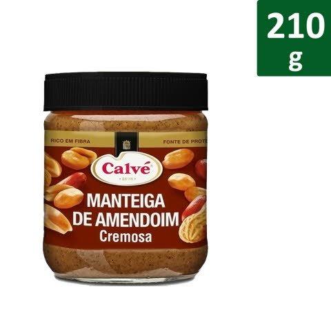 Calvé Manteiga de Amendoim Cremosa 210 Gr -