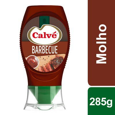Calvé molho Barbecue Top Down 285 Gr -