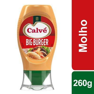 Calvé molho Big Burger Top Down 260 Gr -