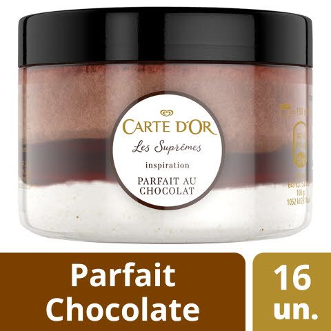 Carte D'Or Copo Parfait Chocolate -