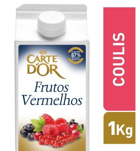 Carte D'Or Coulis Frutos Vermelhos 1Kg -
