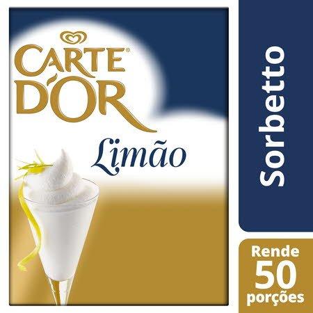 Carte D'Or Sorbetto desidratado Limão 1,44Kg