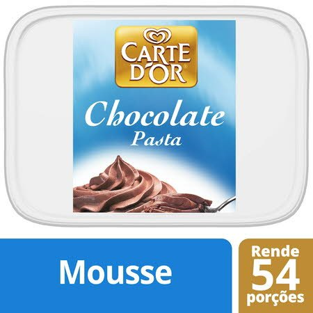 Carte D'Or base mousse pasta Chocolate 3Kg -