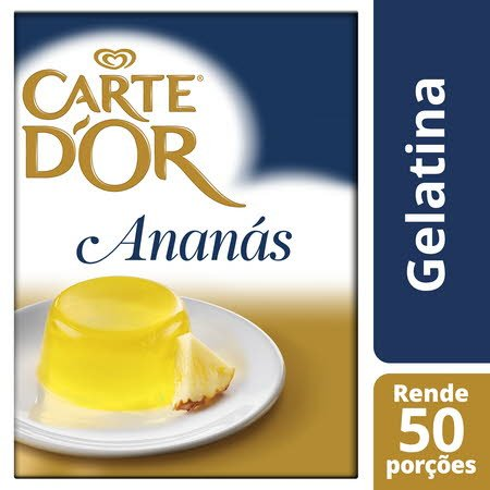 Carte D'Or Gelatina animal desidratada Ananás 850Gr -