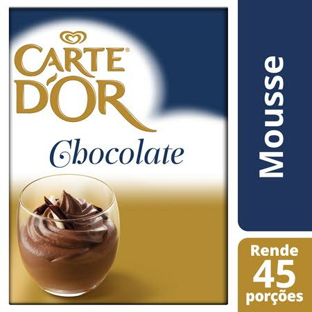 Carte D'Or mousse desidratada Chocolate 720Gr -