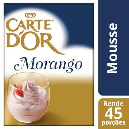 Carte D'Or mousse desidratada Morango 690Gr -