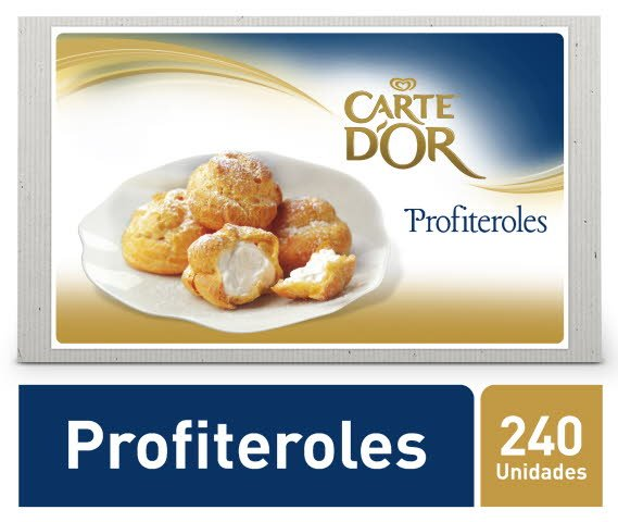 Carte D'Or sobremesa congelada Profiteroles 6x500Gr