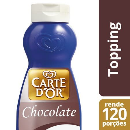 Carte D'Or topping líquido Chocolate 1Kg -
