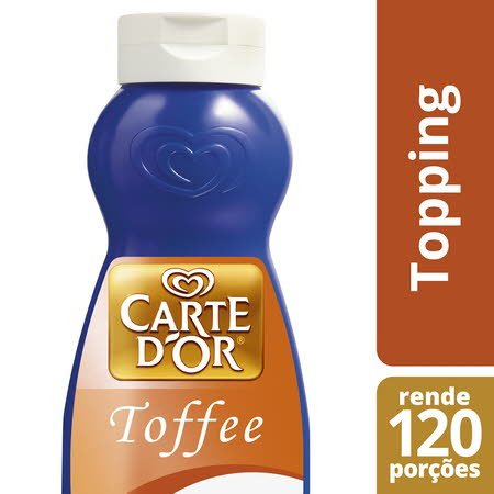 Carte D'Or Topping líquido Toffee 1Kg -