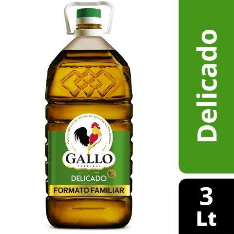 Gallo Azeite Virgem Delicado 3 Lt -