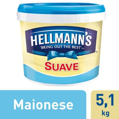 Hellmann's Maionese Suave 5,1Kg