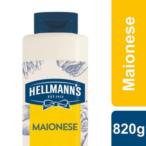 Hellmann's Maionese 820 Gr -