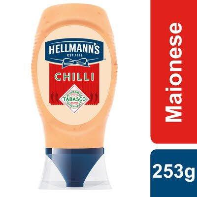 Hellmann's Maionese Chilli Top Down 253Gr -