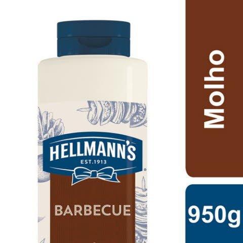 Hellmann's Molho Barbecue 950 Gr -