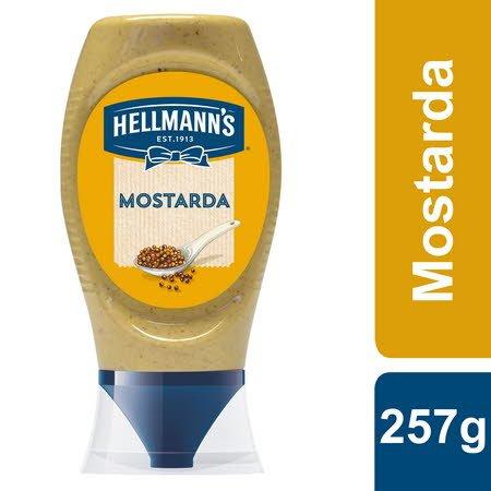 Hellmann's Mostarda Top Down 257Gr