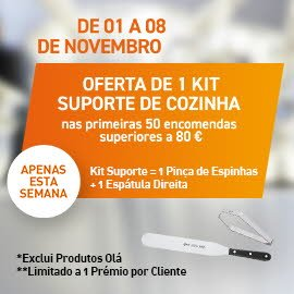 Kit Suporte de Cozinha -