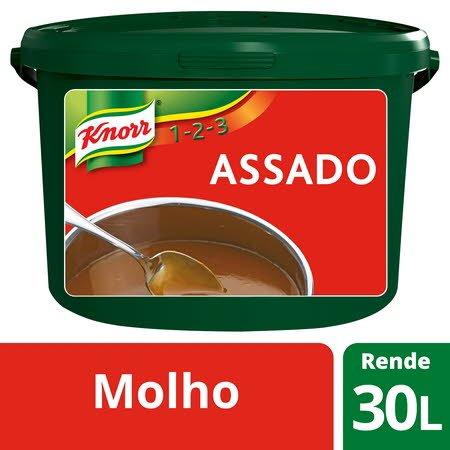 Knorr 1-2-3 molho desidratado Assado 3Kg