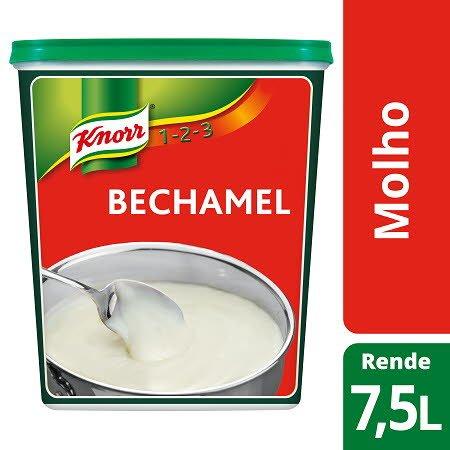Knorr 1-2-3 molho desidratado Béchamel 435Gr -