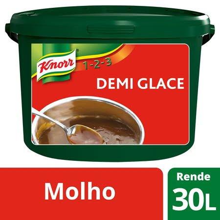 Knorr 1-2-3 molho desidratado Demi Glace 3Kg