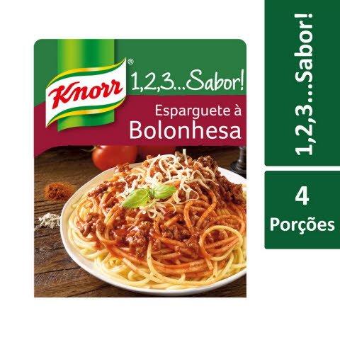 Knorr 1,2,3… Sabor! Esparguete à Bolonhesa -