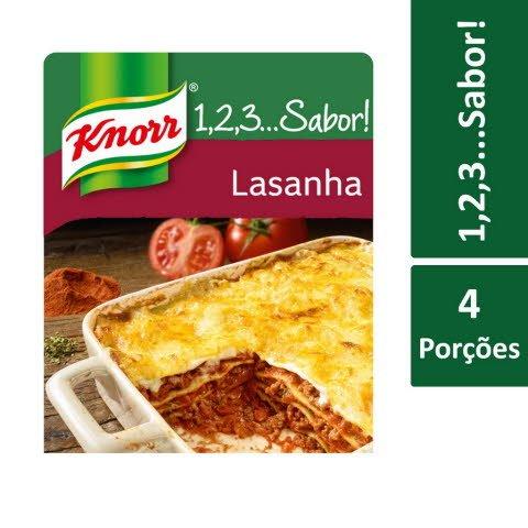Knorr 1,2,3… Sabor! Lasanha -